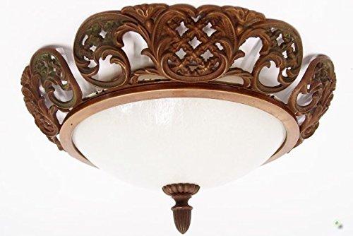 Plafoniere Ottone : Lampada da soffitto in ottone vecchia parete plafoniere