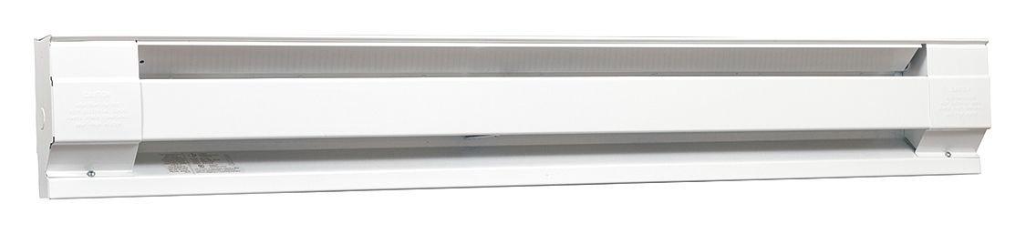 96'' Electric Baseboard Heater, White, 1500/2000W, 208/240V