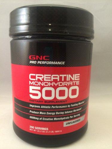 GNC Creatine Monohydrate 5000,...