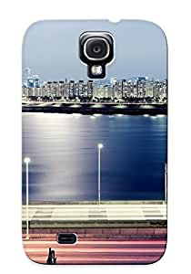 Chistmas' Gift - Cute Appearance Cover/tpu RtWlqjx2779CzFVB Seoul Cityscape Case For Galaxy S4