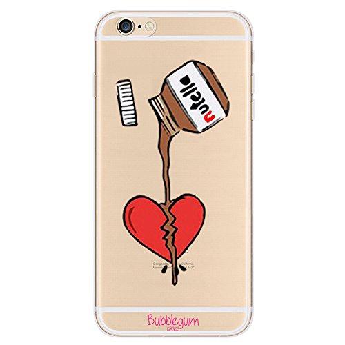 2 opinioni per Bubblegum®- Custodia morbida protettiva in TPU per iPhone, collezione Funny