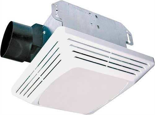 Exhaust Air Fans (Air King ASLC70 Advantage Exhaust Bath Fan with 70-CFM and 4.0-Sones for 100-watt Incandescent Bulbs, White Finish)
