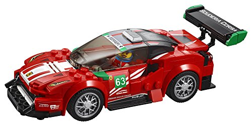 "LEGO Speed Champions Ferrari 488 GT3 ""Scuderia Corsa"" 75886 Building Kit (179 Pieces) (Discontinued by Manufacturer)"