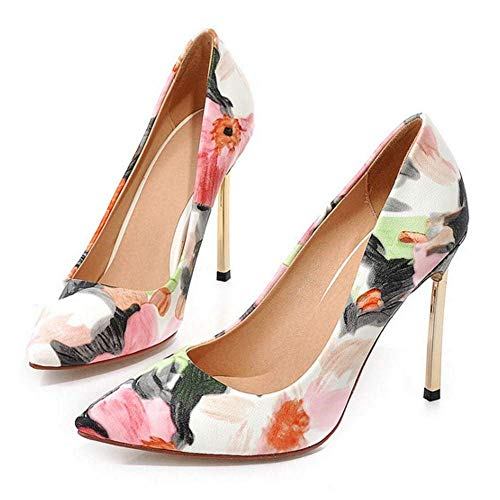 Stiletto Qiusa Bout Pointu À Shoes Court Chaussures On Slip SIwCIq1v
