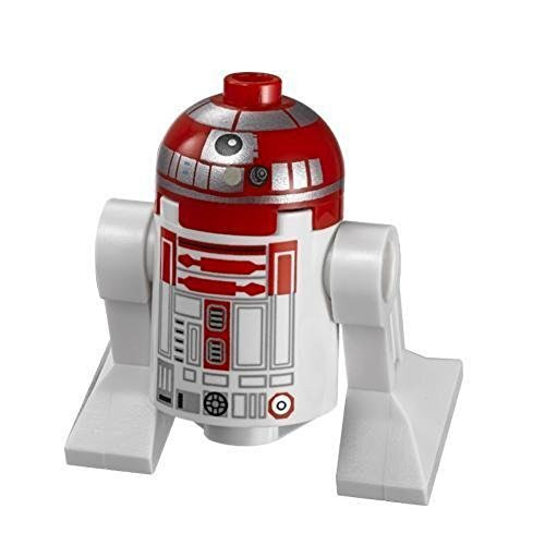 LEGO Star Wars minifigure Astromech Red Droid from V-Wing Starfighter (75039) (Star Wars Legos 75046)