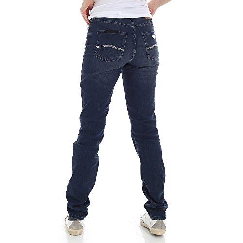 Tasche 3z2j18 Armani Medio Donna Slim Emporio Jeans Borchie 5 Lavaggio x1A4RSA