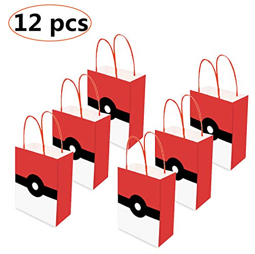 12PCS Video Gaming Party Gift Bags,loot bags, treat bags - Holiday Gift Bag - Goody Favor Bags for Kids Adults Birthday Party Game Themed Party Supplies]()