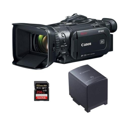 Canon XF-400 4K UHD High Definition Professional Camcorder w