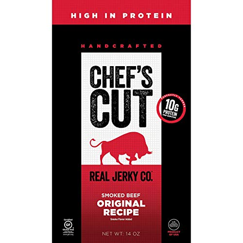 Chef's Cut Tender Real Smoked Beef Jerky, Original Recipe,  14 Ounce