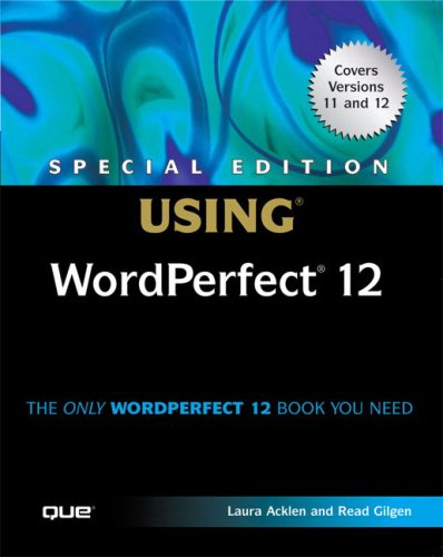 Special Edition Using WordPerfect 12