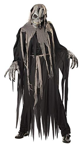 California Costumes Men's Crypt Crawler Costume, Black/Grey,Large ()