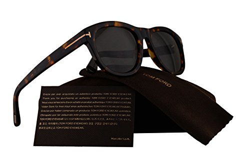 Tom Ford FT0520 Benedict Sunglasses Dark Havana w/Green Lens 52N TF520 FT520 FT 520 TF - Com Returns Toms