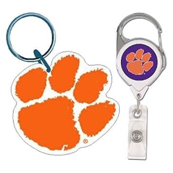 Universidad de Clemson Tigers NCAA acrílico llavero y ...