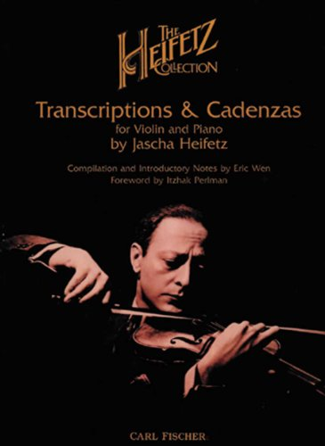 Heifetz: Transcriptions & Cadenzas