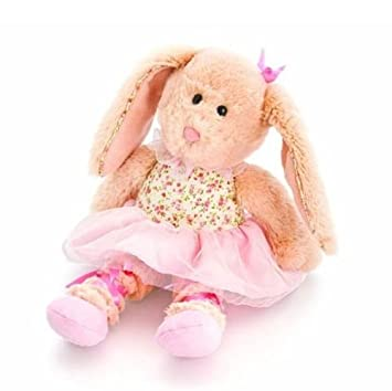 Keel Toys 20cm Belle Rose Ballerina Rabbit