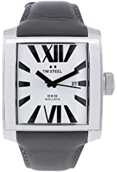 TW Steel Men's CE3002 Stainless Steel Analog Silver Dial Watch