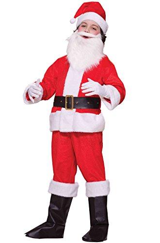 Forum Novelties Deluxe Lil Santa Boy Child Costume