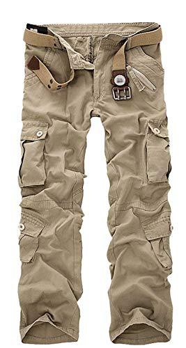 Sección Pantalones Carga Libre Camuflaje Al Largos Bolsillo De Cinturón 2016 Verano Hombres sin Khaki Aire Cortos vCwqpp