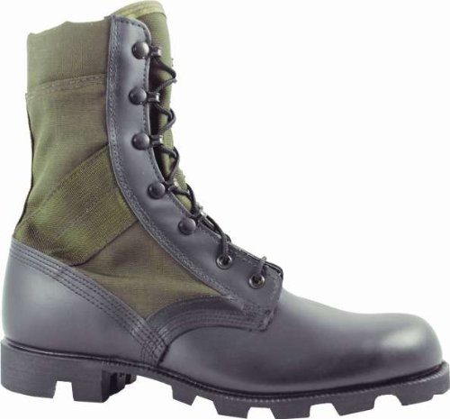 MCRAE HW Jungle Boot In OD and Black With Panama Outsole (11.5W)