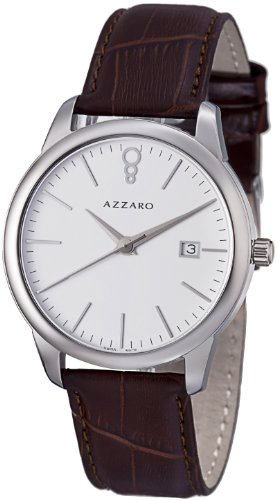 Azzaro Men's AZ2040.12AH.000 Legend Analog Display Swiss Quartz Brown Watch