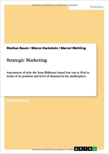 Strategic Marketing Paperback – June 7, 2013