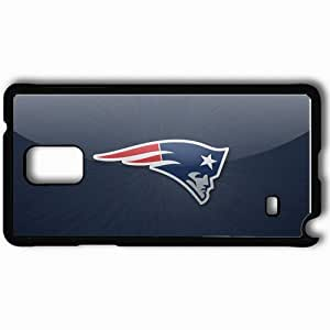 Personalized Samsung Note 4 Cell phone Case/Cover Skin 1473 new england patriots Black