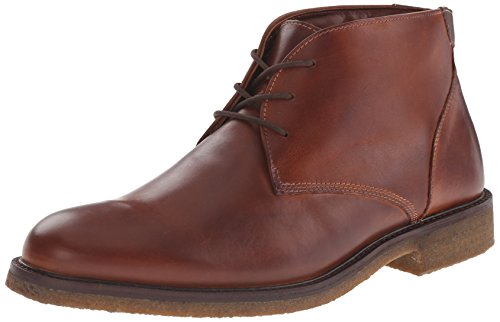 Johnston Murphy Boots (Johnston & Murphy Men's Copeland Chukka Boot, Red/Brown Oiled Full Grain, 10 M US)
