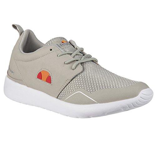 Damen Els525401 Retro Ellesse 41 Dm1 Beige Schuhe Sneaker 4qapwfR