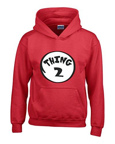 2 Mens Hooded Sweatshirt - 1