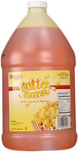 Snappy Popcorn 1 Gallon Butter Burst Buttery Oil