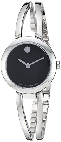 - Movado Women's Amorosa Duo Swiss-Quartz Watch with Stainless-Steel Strap, Silver, 11.6 (Model: 0607131)