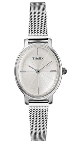 Timex Womens Analogue Classic Quartz Watch with Stainless Steel Strap TW2R94200
