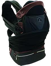 Chicco Boppy bärsele justerad comfit, ergonomisk och säker för babyhöft och rygg, yoga inspirerat material, ventilerande nätinsatser från födseln upp till 15 kg
