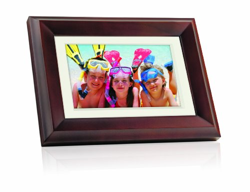 GiiNii GH-7AWP 7-Inch - InchAll-In-One- Inch Digital Picture Frame (Brown)