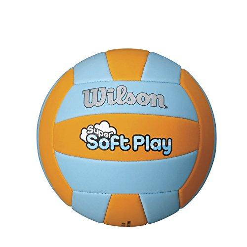 Wilson Super Soft Play Volleyball Orange/Blue