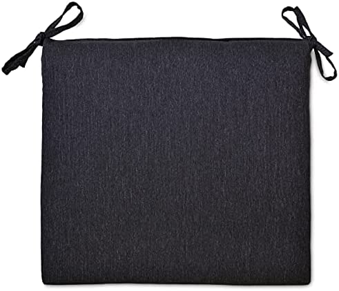 Overstock Outdoor Seat Cushion Black