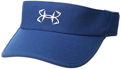 Under Armour Outerwear Womens UA Thermocline Visor, Moroccan Blue (487)/White, One Size Fits All