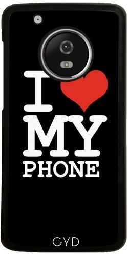 Funda para Lenovo (Motorola) Moto G5 Plus - Amo A Mi Teléfono by wamdesign