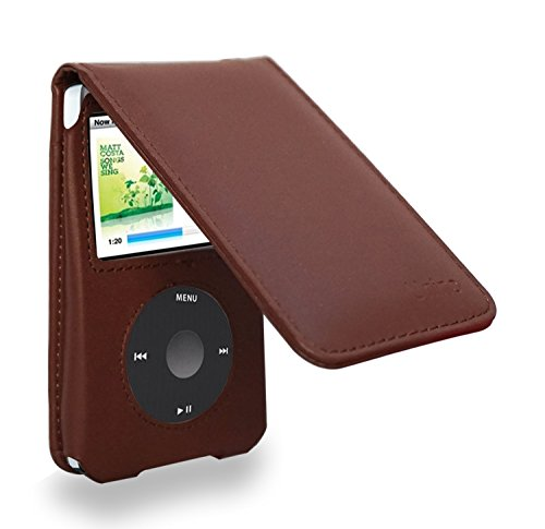 Ipod Classic Leather Flip Case 120/160 GB - Brown Ipod