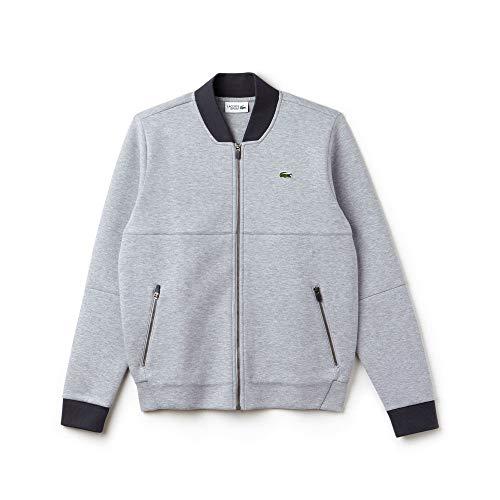 912b06a4d9c8 Lacoste Homme graphite Chine shirt Sport Argent Sweat Sh9487 CFnHvPCr
