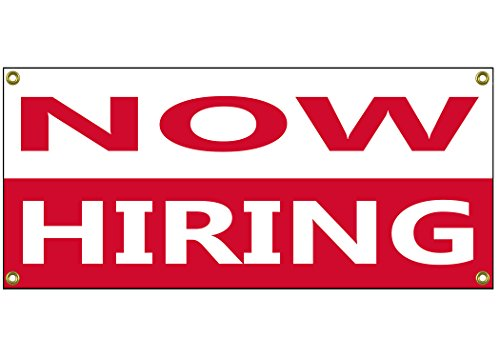 Now Hiring Banner Retail Store Shop Business Sign 36
