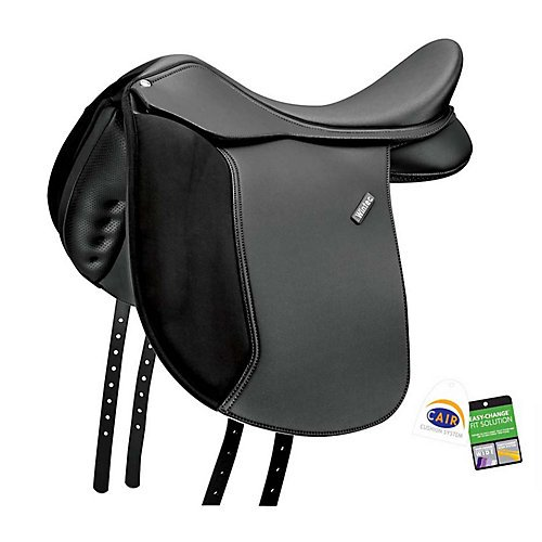 (Wintec 500 Wide Dressage Flocked Saddle 17.5