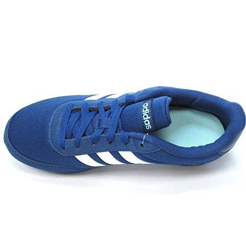adidas Schuhe V Racer 2.0 W Mystery Blue-Footwear White-Energy Aqua (BC0113) 38 Blau 05tfpris