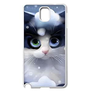 Cute cartoon cat Personalized Cover Case with Hard Shell Protection for Samsung Galaxy Note 3 N9000 Case lxa#971915