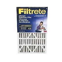 Filtrete Allergen Reduction Furnace Air Filter, MPR 1000, 20x25x4, 4-Pack