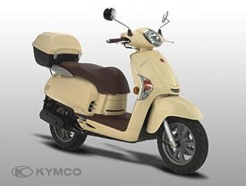Kymco Kymco Like 50 2-stroke Scooter, Colours: Beige: Amazon.co.uk ...