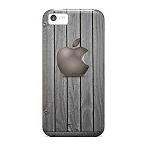 CristinaKlengenberg Iphone 5c Perfect Hard Phone Cover Custom Lifelike Iphone Wallpaper Pattern [SWi12188aEyv]