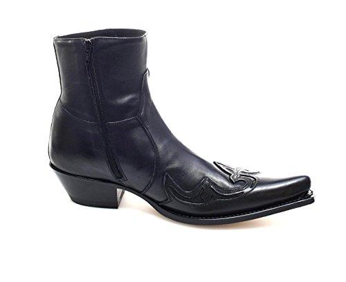 Adult Sendra Black Cowboy 7783 Boots Unisex A486q