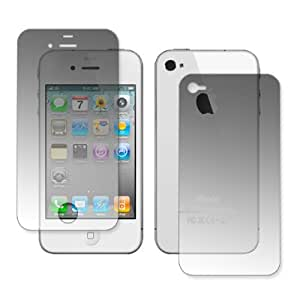 EMPIRE Pro Shield Screen and Back (Full Phone) Protector for Apple iPhone 4 / 4S [EMPIRE Brand Packaging]