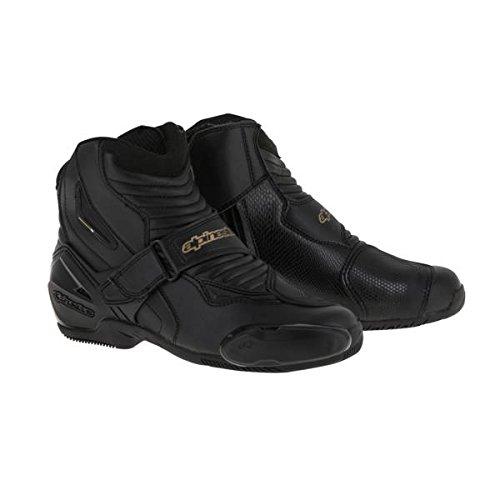Alpinestars SMX-1R Women's Street Motorcycle Boots - Black/Gold / 39